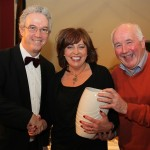 Rachel O'Connor receives Best Actress Award at the Kiltyclogher Drama Festival