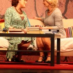 Veronique (Rachel O'Connor) and Annette Reille (Patricia Keane)