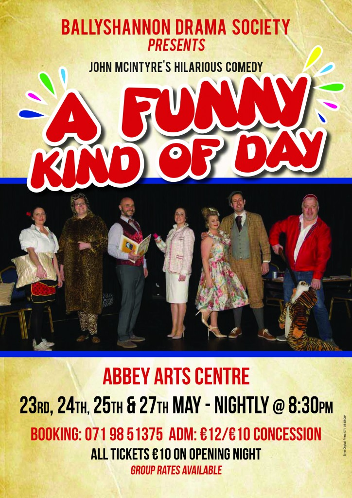 A funny Kind Of Day Poster