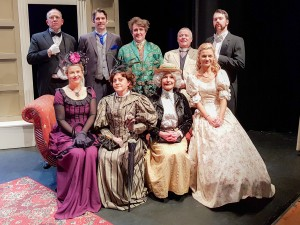 The cast of 'The Importance of Being Earnest'