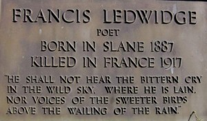 Francis Ledwidge Headstone